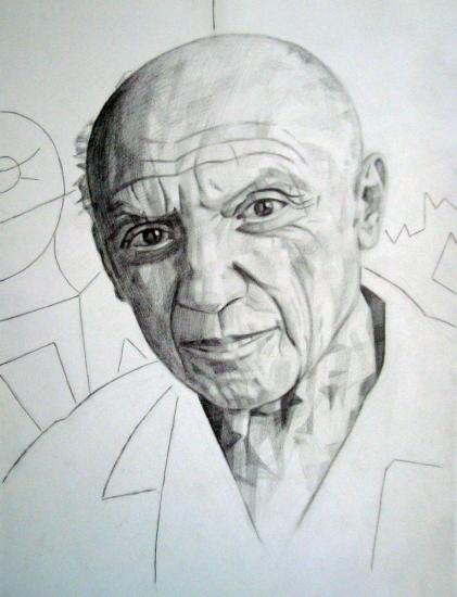 Pablo Picasso por volkov